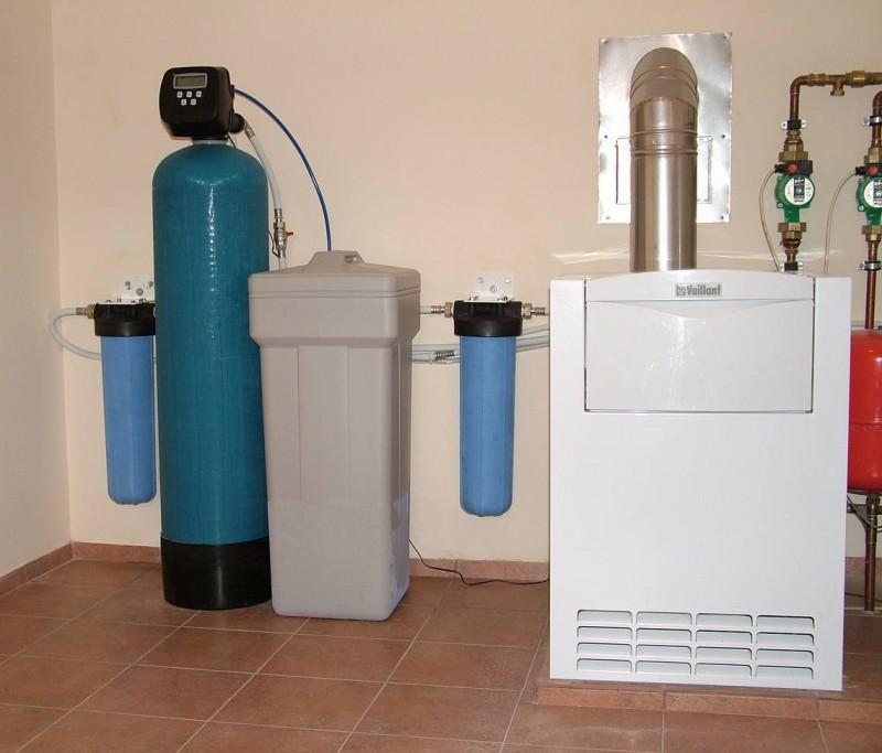 Фильтр умягчитель для воды 1