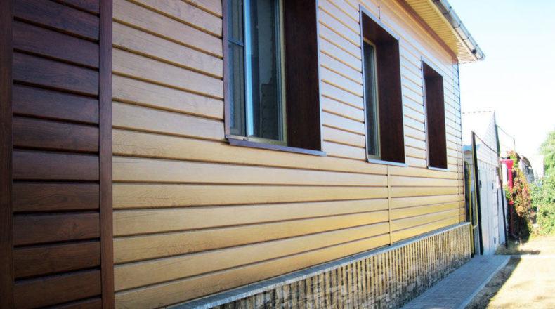 Металлический сайдинг для фасадов