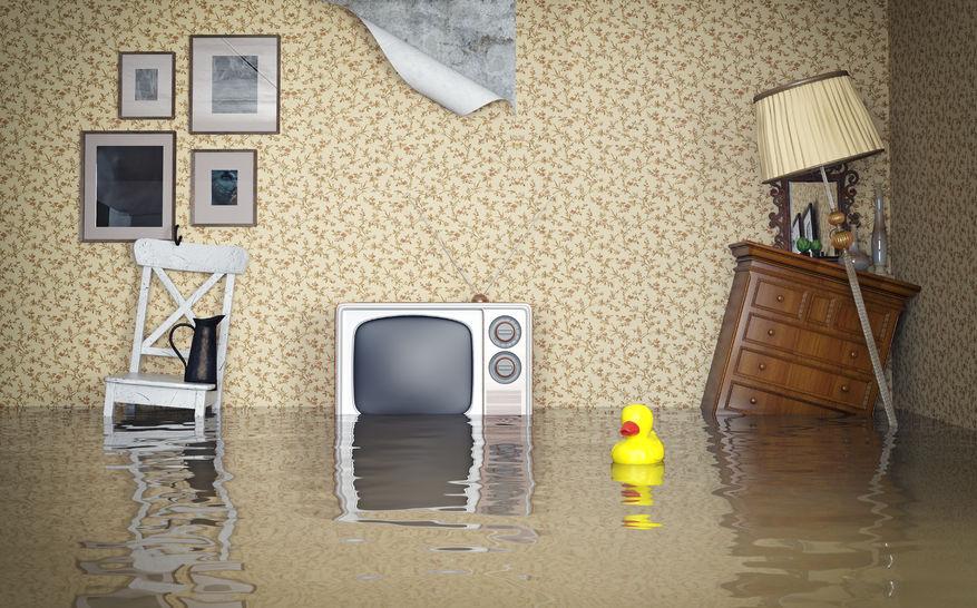затопление квартиры