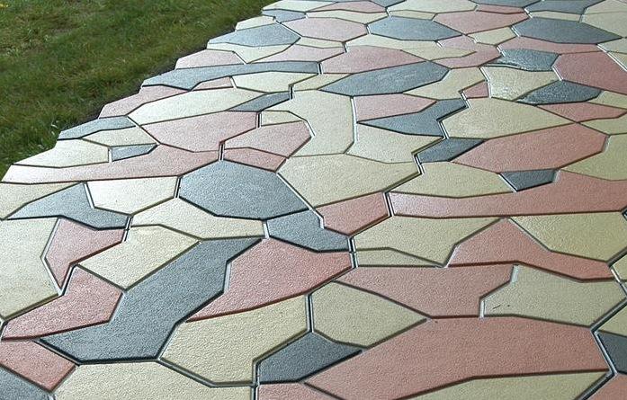 использование добавок для тротуарной плитки