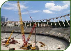 Администрация Томской области намерена расторгнуть договор строительства стадиона