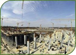 Строительные мощности в России не могут построить за год больше 60 млн. кв. м. жилья
