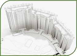 В 2013 г под Нижним Новгородом начнется строительство жилого комплекса на 1 млн кв м