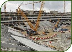 В Москве строительство современного стадиона